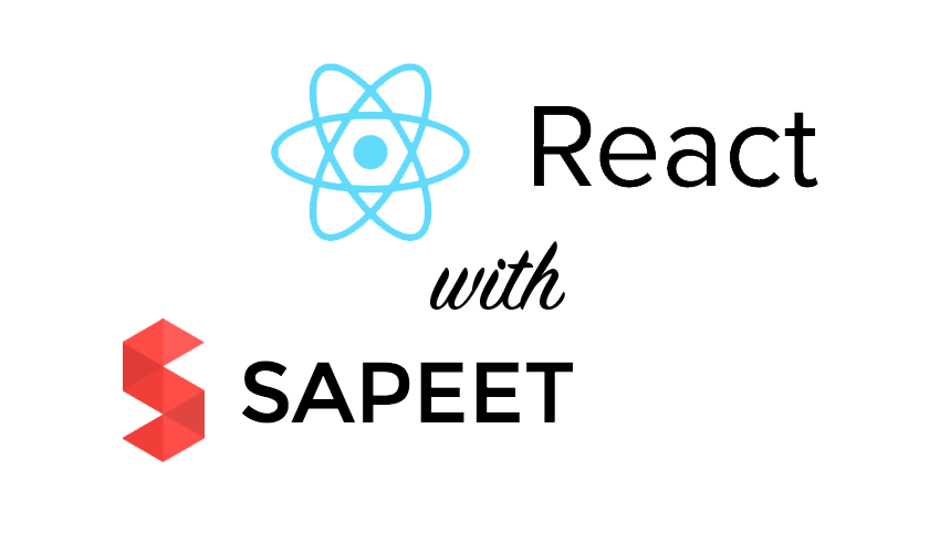 React with sapeet
